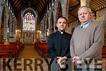 Fr Sean Jones and Fr Tadhg Fitzgerald, Saint Johns Church, Castle Street, Tralee.