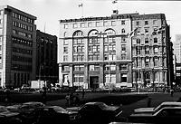 Edifice de la Canada Steamsip Lines ,<br /> Place Victoria, Octobre 1979<br /> <br /> PHOTO : JJ Raudsepp  - Agence Quebec presse