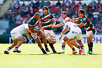 5th June 2021; Mattioli Woods Welford Road Stadium, Leicester, Midlands, England; Gallagher Premiership Rugby, Leicester Tigers versus Bristol Bears; Ellis Genge of Leicester Tigers charges through the Bristol Bears defence