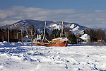 Old St. Lawrence Ship Wreck, Baie St. Paul, Quewbec