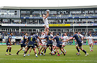 11 January 2020; Iain Henderson takes this lineout against Clermont during the Heineken Champions Cup Pool 3 Round 5 match between ASM Clermont Auvergne and Ulster at Stade Marcel-Michelin in Clermont-Ferrand, France. Photo by John Dickson/DICKSONDIGITAL