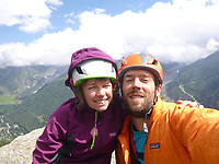 2017 09 29 Rock climbers Andrew and Lucy Foster in accident at Yosemite National Park, USA