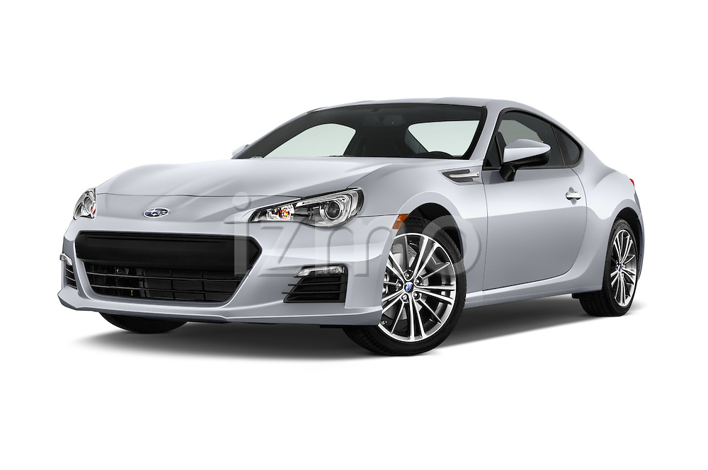 Stock pictures of low aggressive front three quarter view of a 2015 Subaru BRZ Limited AT 2 Door Coupe Low Aggressive