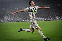Cristiano Ronaldo of Juventus celebrates after scoring the goal of 2-1 on penalty <br /> Torino 30/10/2019 Juventus Stadium <br /> Football Serie A 2019/2020 <br /> Juventus FC - Genoa CFC  <br /> Photo Federico Tardito / Insidefoto