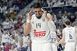 Real Madrid's Gustavo Ayon during Euroleague Quarter-Finals 3rd match. April 19,2016. (ALTERPHOTOS/Acero)