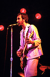 The Who 1976 Pete Townshend at Charlton<br /> © Chris Walter