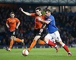 Iain Gray holds off Lee McCulloch