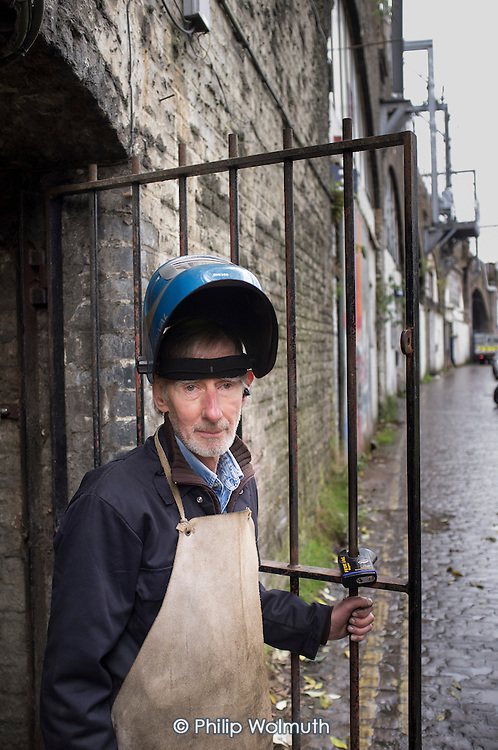 Adam Duff has run Adam Engineering from an arch of the Kentish Town Road railway bridge for more than 20 years.  The workshop will be inaccessible for three and a half years if current plans to widen and strengthen the bridge for the HS2 high speed rail line go ahead.