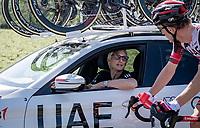 UAE DS Allan Peiper<br /> <br /> 17th Benelux Tour 2021<br /> Stage 5 from Riemst to Bilzen (BEL/192km)<br /> <br /> ©kramon