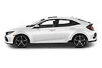 Car Driver side profile view of a 2020 Honda Civic-Hatchback Sport-Touring 5 Door Hatchback Side View