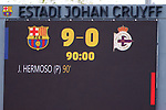 Liga IBERDROLA. Game 26.<br /> FC Barcelona vs RC Deportivo: 9-0.