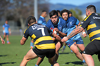 Action from the Horowhenua-Kapiti premier reserve club rugby union final between Levin College Old Boys and Foxton at Levin Domain in Levin, New Zealand on Saturday, 8 August 2020. Photo: Dave Lintott / lintottphoto.co.nz
