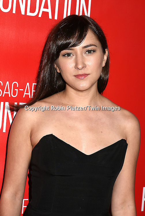 Zelda Williams attends the Grand Opening of SAG-AFTRA Foundation Robin Williams Center on October 5, 2016 at The Robin Williams Center in New York, New York, USA.<br /> <br /> photo by Robin Platzer/Twin Images<br />  <br /> phone number 212-935-0770