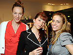 From left: Maja Omanovic, Ana Visekruna and Milica Gvozdenovich at the Young at Heart party at the Guess by Marciano store at the Galleria  Wednesday March 24,2010. (Dave Rossman Photo)