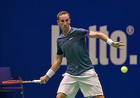 December 16, 2014, Rotterdam, Topsport Centrum, Lotto NK Tennis, Mark de Jong (NED)<br /> Photo: Tennisimages/Henk Koster