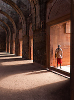 Mandu or Mandavgad is a ruined city in the present-day Mandav area of the Dhar district. It is located in the Malwa region of western Madhya Pradesh, India, at 35 km from the Dhar city.