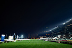 SHA TIN,HONG KONG-DECEMBER 08 : Turf track before sunrise  at Sha Tin Racecourse on December 8,2017 in Sha Tin,New Territories,Hong Kong (Photo by Kaz Ishida/Eclipse Sportswire/Getty Images)