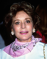Barbara Walters 1991<br /> Photo by Adam Scull/PHOTOlink