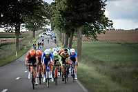 Peloton divides into different groups. <br /> <br /> Circuit de Wallonie 2019<br /> One Day Race: Charleroi – Charleroi 192.2km (UCI 1.1.)<br /> Bingoal Cycling Cup 2019
