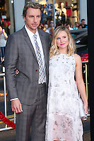 HOLLYWOOD, LOS ANGELES, CA, USA - SEPTEMBER 15: Actor Dax Shepard and actress Kristen Bell arrive at the Los Angeles Premiere Of Warner Bros. Pictures' 'This Is Where I Leave You' held at the TCL Chinese Theatre on September 15, 2014 in Hollywood, Los Angeles, California, United States. (Photo by Xavier Collin/Celebrity Monitor)