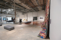 One of the large exhibit rooms inside The Momentary is seen Friday, Feb. 21, 2020. The Momentary is owned by Crystal Bridges and is a place for visual and performing arts, including music, film, culinary, and more.<br /> (NWA Democrat-Gazette/Spencer Tirey)