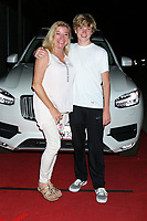 LOS ANGELES - SEP 26:  Carson Severson and mother at the Catalina Film Festival Drive Thru Red Carpet, Saturday at the Scottish Rite Event Center on September 26, 2020 in Long Beach, CA