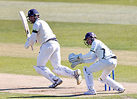 Grant Stewart bats for Kent during Kent CCC vs Yorkshire CCC, LV Insurance County Championship Group 3 Cricket at The Spitfire Ground on 16th April 2021