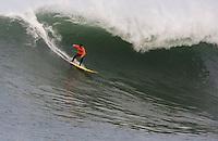 Jamie Sterling.  Mavericks Surf Contest 2008.  Half Moon Bay, Ca.  January 12, 2008.