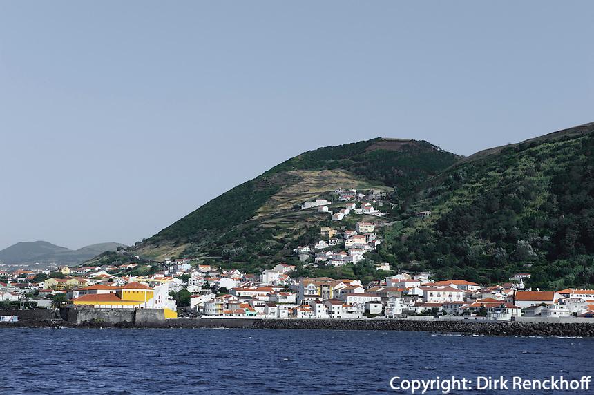 Velas auf der Insel Sao Jorge, Azoren, Portugal