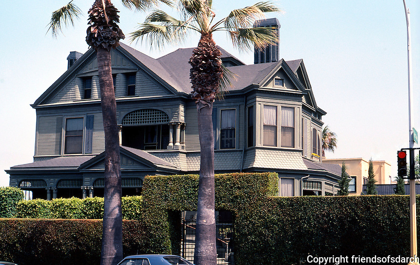 San Diego: Henry H. Timken House, 2508 First Avenue, 1888. Comstock and Trotsche. Late Victorian, Queen Anne. Photo '80.