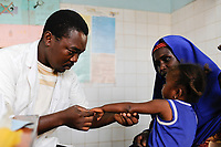 NIGER Zinder, health station in Kara-Kara / NIGER Zinder, Krankenstation im Stadtviertel KARA-KARA
