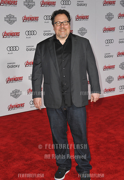 """Jon Favreau at the world premiere of """"Avengers: Age of Ultron"""" at the Dolby Theatre, Hollywood.<br /> April 13, 2015  Los Angeles, CA<br /> Picture: Paul Smith / Featureflash"""