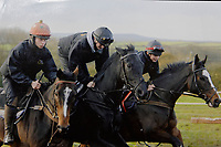 UNKNOWN COPYRIGHT<br /> THIS PICTURE IS RACING POST COPYRIGHT<br /> Pictured: Michael, Sean, James Bowen circa 2010. Wednesday 10 January 2018<br /> Re: Peter Bower Racing in Little Newcastle, west Wales, UK.