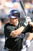 Seth Smith, Colorado Rockies 2010 spring training, against the Seattle Mariners at Peoria Stadium, Peoria, AZ - 03/18/2010..Photo by:  Bill Mitchell/Four Seam Images.