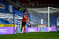 15th September 2020; Madejski Stadium, Reading, Berkshire, England; English Football League Cup, Carabao Cup Football, Reading versus Luton Town;  Danny Hylton frustrated as he goes close with a header.
