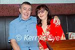 Enjoying the evening in Tatler Jacks in Killarney on Saturday, l to r: Peter McInerney and Ann Keogh from Killarney.
