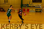 Xavier Talton Scotts LAkers drives downcourt to Limerick Celtics basket during their league clash in Killarney on Saturday night