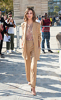 September 29 2017, PARIS the Nina Ricci Show at the Paris Fashion Week<br /> Spring Summer 2017 / 2018. Actress Emilie<br /> Ratajkowski invited at the show.