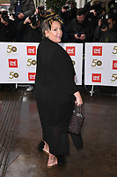 Lorraine Stanley<br /> arriving for the TRIC Awards 2019 at the Grosvenor House Hotel, London<br /> <br /> ©Ash Knotek  D3487  08/03/2019