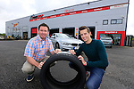 "Bridgestone and Healy's Tyres in Naas team up with jockey Bryan Cooper<br /> <br /> Bridgestone Ireland and Healy's Tyre and Service Centre in Naas have become official tyre suppliers to national hunt jockey and emerging star Bryan Cooper.<br /> Healy's recently fitted Brian's car with Bridgestone S001 Potenza tyres at its First Stop Centre on the Monread Road in Naas. Tom Healy, Proprietor of Healy's said ""We are delighted to be associated with Kildare jockey Bryan Cooper who has already had significant success in his career. We wish Bryan every success for the coming season"".<br /> ends<br /> <br /> For further information contact: Colm Conyngham, Bridgestone Ireland +353 87 2362186<br /> <br /> Pictured Tom Healy and Brian Cooper with the Bridgestone S001 Potenza tyres that were fitted to Brians car to keep him firmly on the road.<br /> <br /> Picture www.newsfile.ie"