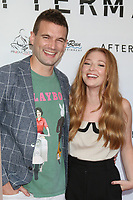 LOS ANGELES - AUG 3:  Alex Russell, Diana Hopper at the Aftermath Premiere at the Landmark Theater on August 3, 2021 in Westwood, CA