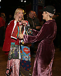 """Erica Mansfield and Kelli O'Hara during the Broadway Opening Night Legacy Robe Ceremony honoring Erica Mansfield for  """"Kiss Me, Kate""""  at Studio 54 on March 14, 2019 in New York City."""