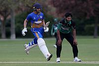 Kiran Kullar in batting action for Upminster during Upminster CC (batting) vs Ilford CC, Hamro Foundation Essex League Cricket at Upminster Park on 8th May 2021