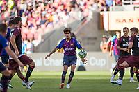 Santa Clara, CALIFORNIA - Saturday August 4, 2018: AC Milan defeated FC Barcelona 1-0 at Levi's Stadium in Santa Clara