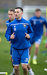 St Johnstone Training…27.09.19<br />Jason Holt pictured during training this morning at McDiarmid Park ahead of tomorrow's game against Motherwell.<br />Picture by Graeme Hart.<br />Copyright Perthshire Picture Agency<br />Tel: 01738 623350  Mobile: 07990 594431