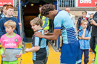 Sido Jombati of Wycombe Wanderers during the Wycombe Wanderers 2016/17 Team & Individual Squad Photos at Adams Park, High Wycombe, England on 1 August 2016. Photo by Jeremy Nako.