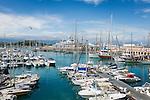 France, Provence-Alpes-Côte d'Azur, Antibes: Port Vauban   Frankreich, Provence-Alpes-Côte d'Azur, Antibes: Hafen Port Vauban