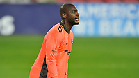 WASHINGTON, DC - NOVEMBER 8: Bill Hamid #24 of D.C. United during a game between Montreal Impact and D.C. United at Audi Field on November 8, 2020 in Washington, DC.