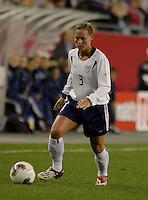 Christie Pearce, USA vs. Norway, in Boston, Ma, 2003 WWC.