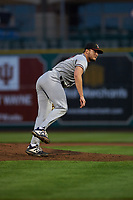 Quad Cities River Bandits starting pitcher Matt Ruppenthal (27) during a Midwest League game against the Fort Wayne TinCaps at Parkview Field on May 3, 2019 in Fort Wayne, Indiana. Quad Cities defeated Fort Wayne 4-3. (Zachary Lucy/Four Seam Images)
